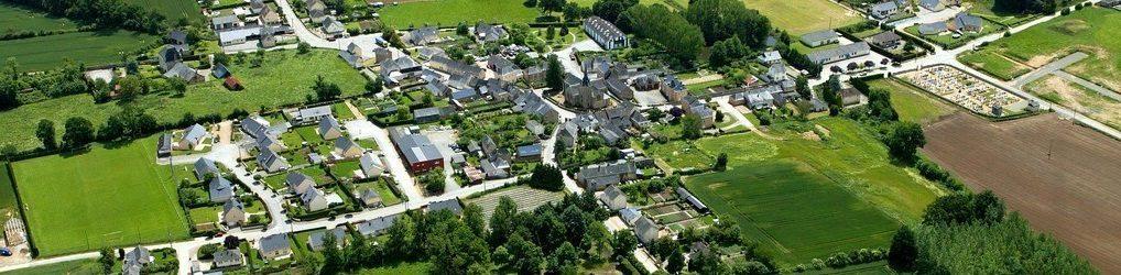 Le village de Beaulieu-sur-Oudon